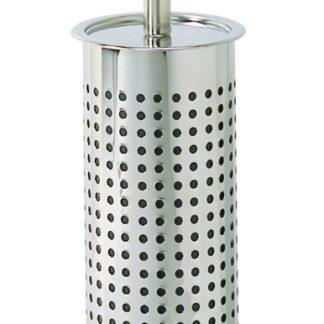 Toiletborstel en -houder Tiger Inox kersenhout mat