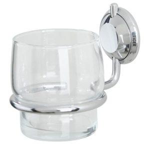 Bekerhouder met glas enkel Torino