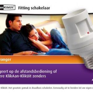 Fitting Schakelaar AFR060 klik Aan/Klik Uit