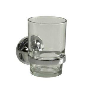 Bekerhouder met glas Haceka Aspen