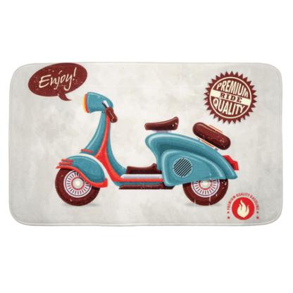 wenko badmat vintage scooterpng