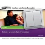 WANDSCHAKELAAR DUBBEL AWST-8802 KLIK AAN