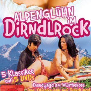 Alpenglühn im Dirndlrock - Erotik Nostalgie - [5 DVDs]