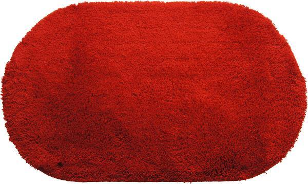 sealskin badmat claudia ovaal 50 x 80 rood - badkamer accessoires