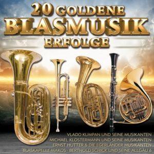 Divers - 20 Goldene Blasmusik Erfolge - (CD)