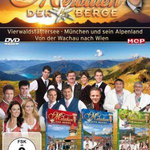 Melodien der Berge - Vierwaltstattersee, Munchen und sein Alpenland, Von der Wachau nach Wien - (3DVDbox)