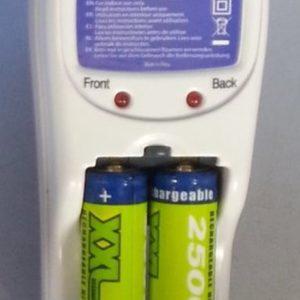 XXL Batterijoplader incl. 2 AA 2500 NI-MH batterijen
