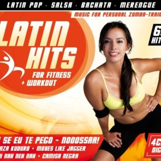 Latin Hits For Fitness + Workout ( 4 CD )