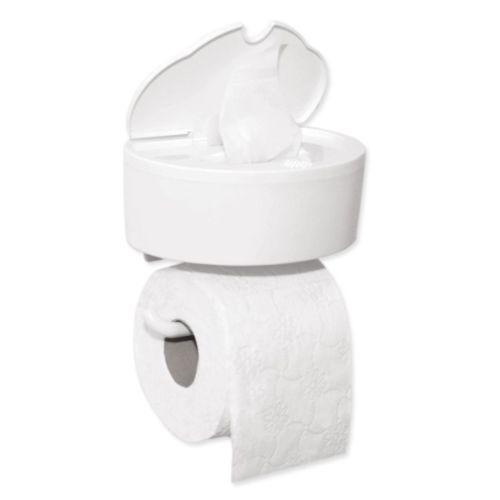 Toiletrolhouder met dispenser vochtig toiletpapier Inno B Smart