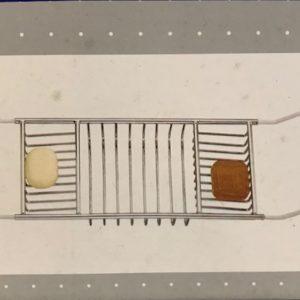 Badbrug / Badplanchet chroom
