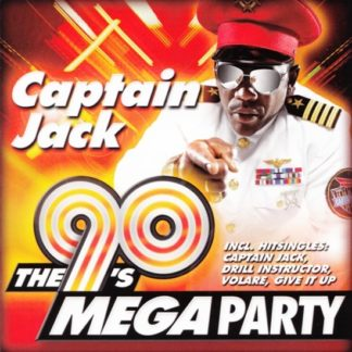 Captain Jack - The 90'S Megaparty - (CD)