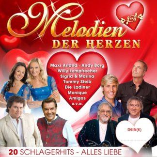 Divers – Melodien Der Herzen – 20 Schlagerhits - Alles Liebe (CD)