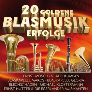 Divers - 20 Goldene Blasmusik-Erfolge - (CD)