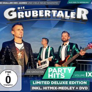 GRUBERTALER- die grössten partyhits vol 9- (CD & DVD)