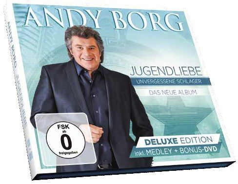 Andy Borg - Jugendliebe – Deluxe Edition – (CD & DVD)