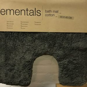 Sealskin Elements toiletmat 45 x 55 cm Antraciet