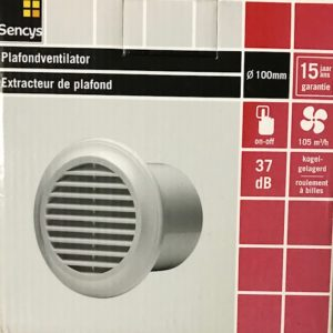 Sencys Plafondventilator (100 mm)
