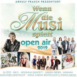 Divers - Wenn die Musi spielt - Open Air 2019 (CD)
