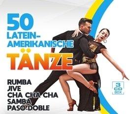 50 Lateinamerikanische Tänze - Various Artist (3CD)