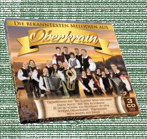 Die bekanntesten Melodien aus Oberkrain (3CDbox)