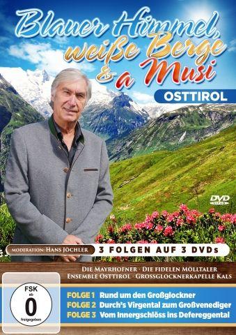 VARIOUS – Blauer Himmel, Weisse Berge & a Musi - Osttirol (3DVDbox)