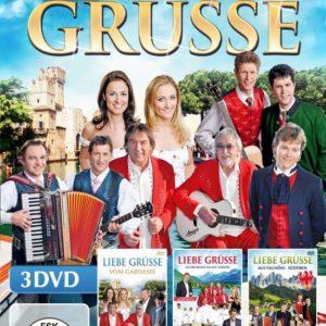 VARIOUS - Liebe Grüsse (3DVDbox)