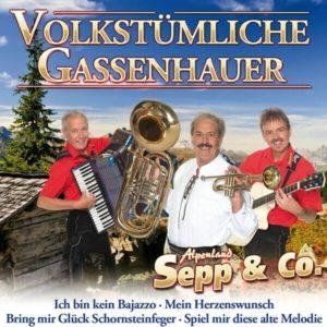 Alpenland Sepp & C0. – Volkstümliche Gassenhauer – (CD)