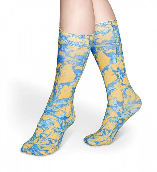Happy Socks Specials Marble Yellow (One-Size)