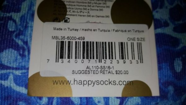 Happy Socks Specials Marble Blue (One-Size)