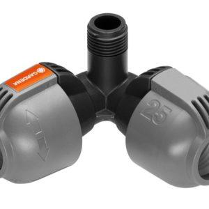 Gardena Sprinklersystem Hoekstuk 25mmx1/2 Buitendraad