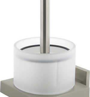 Tiger Items Toiletborstel+Houder RVS