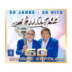 Amigos - 50 Jahre - 50 Hits - 50 Grosse Erfolge - (3CDbox)