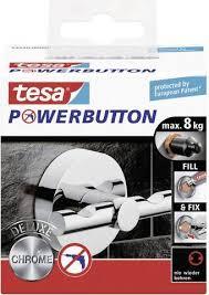 Tesa Powerbutton Deluxe Duohaak