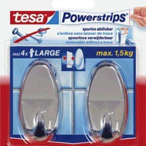 Tesa Powerstrips® Waterproof Haken Large
