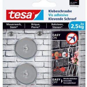 Tesa klevende schroef voor Baksteen/Steen