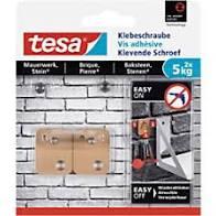 Tesa klevende schroef voor baksteen – 2 x 5 kg