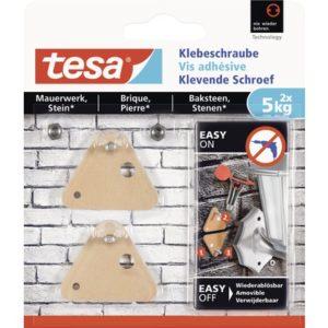 Tesa klevende schroef voor baksteen - 2 x 5 kg