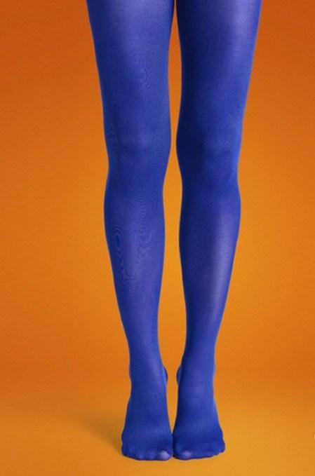 Happy Socks Tights Blauw-Maat-S