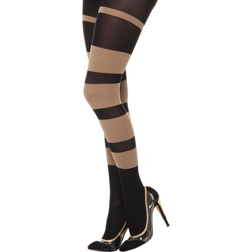 Happy Socks Tights Zw/Be-Maat-M