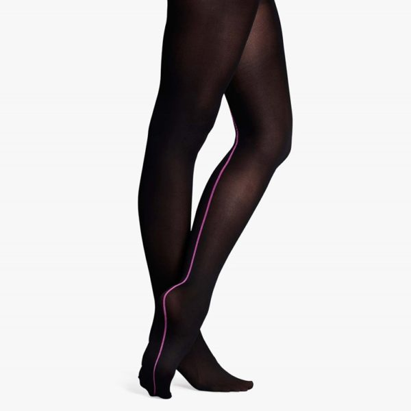 Happy Socks Tights Zwart-S/M