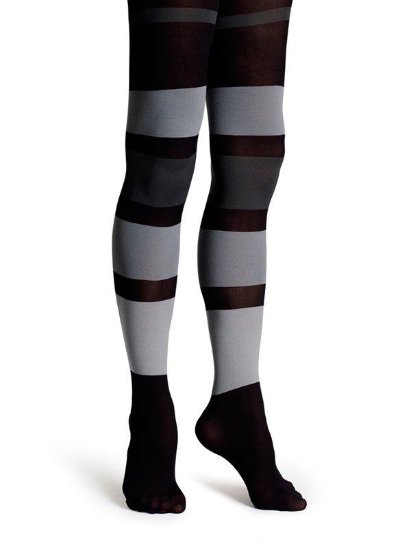 Happy Socks Tights zw/gr-S