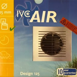 IVC Air Inbouw Ventilator 125 mm
