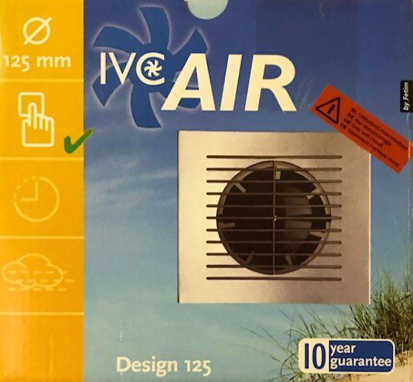 IVC Air Inbouw Ventilator 125 mm