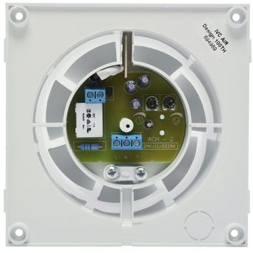 IVC Air Inbouw Ventilator 100 mm-Wit-Timer+Vochtsensor
