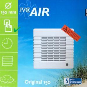 IVC Air Inbouw Ventilator 150 mm-Wit-Standaard