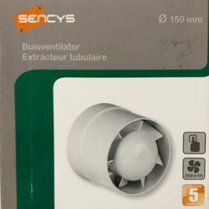 Sencys Buisventilator Wit (150 mm)