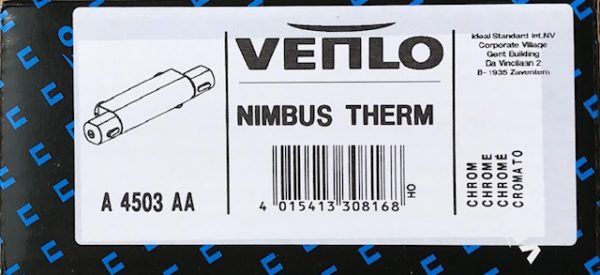 Venlo Nimbus Douchethermostaat Chroom