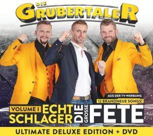 Die Grubertaler – Echt Schlager, die große Fete-Vol1 (CD+DVD)