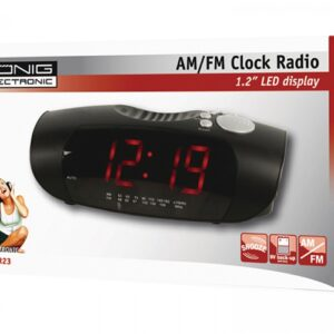 KONIG AM/FM Clock Radio