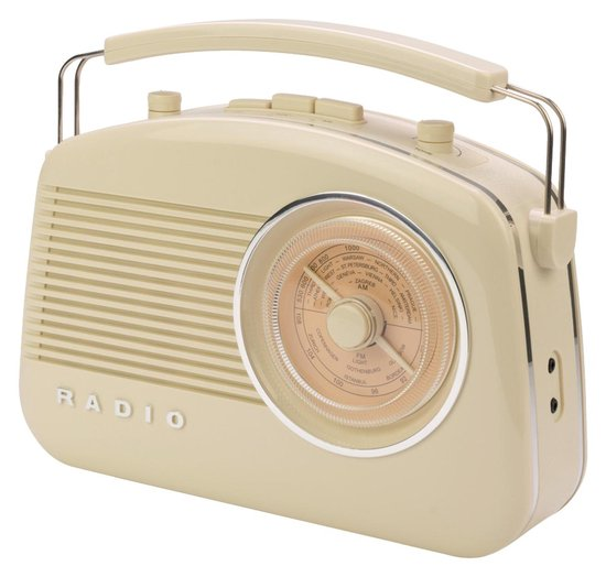 KONIG Retro-Radio met Bluetooth